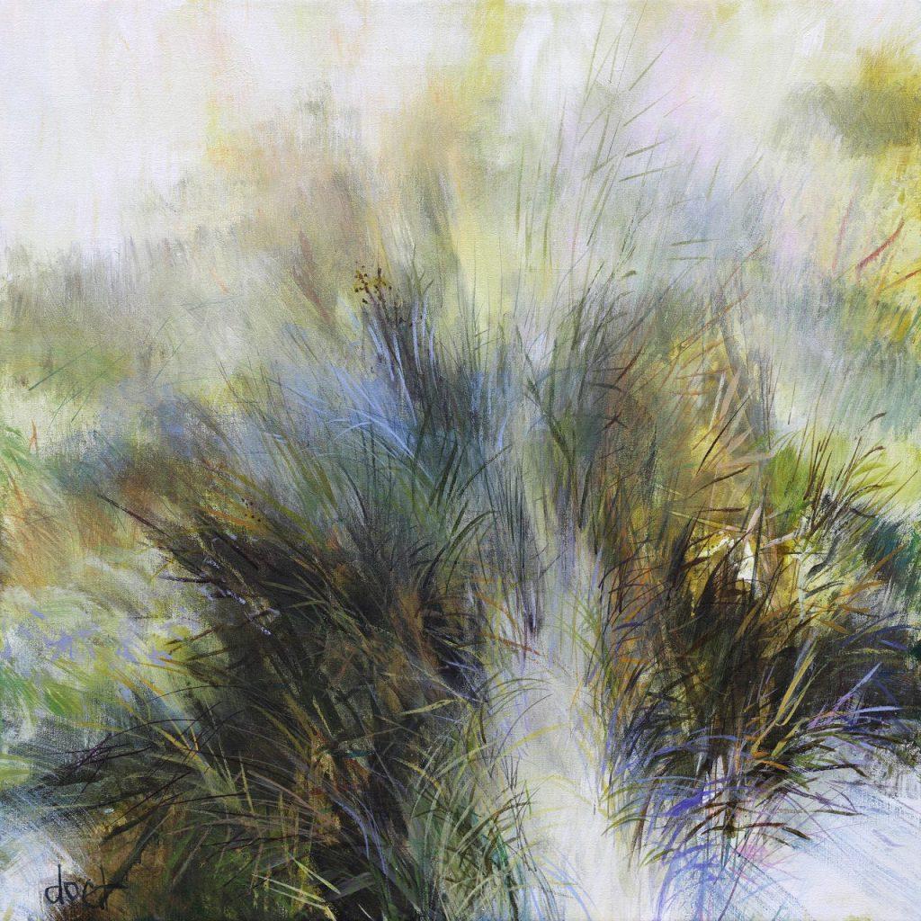 Green grasses 80×80 – 2019
